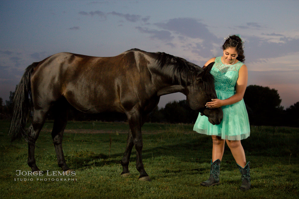 Quinceanera photography Idaho